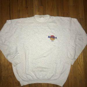 Vintage Hard Rock Cafe Miami Sweatshirt Size XL!!!